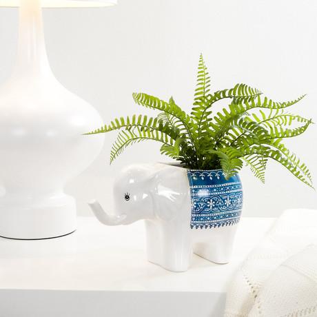 Parading Elephant // Drop Pot Planter