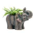 Happy Elephant // Indoor + Outdoor Garden Drop Pot Planter