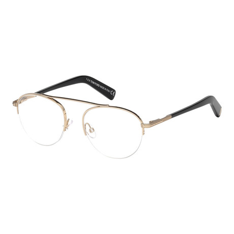 Tom Ford // Men's Metal Optical Frames // Gold