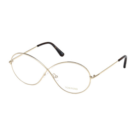 Women's Metal Optical Frames // Gold