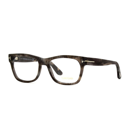 Men's Acetate Wayfarer Optical Frames // Gray Havana
