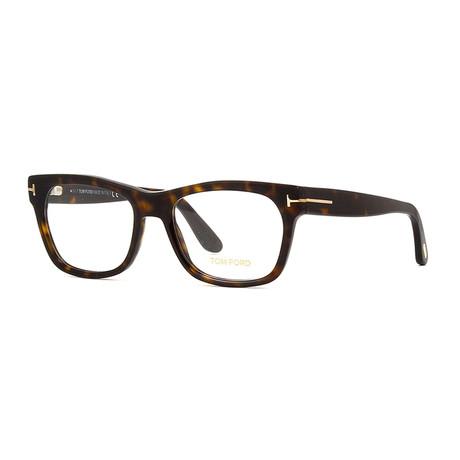 Men's Acetate Wayfarer Optical Frames // Dark Havana