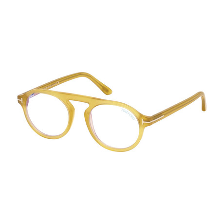Tom Ford // Men's FT5534 Optical Frames // Yellow