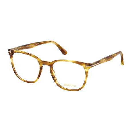Men's Acetate Optical Frames // Yellow Havana