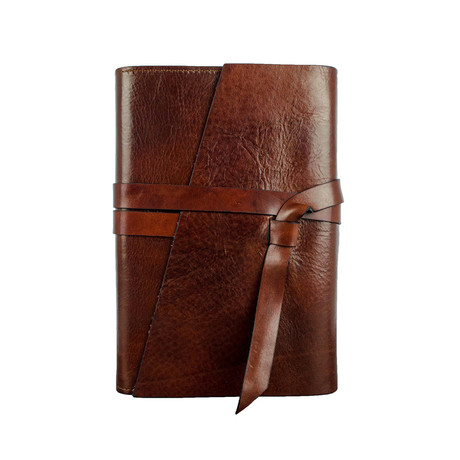 P.S. I Love You // Leather Journal // Dark Brown