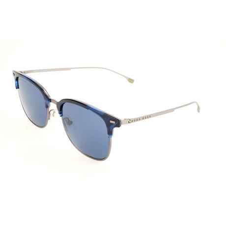 Men's 1028 Sunglasses // Blue Horn
