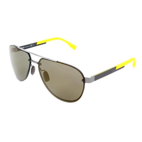 Men's 0811 Sunglasses // Dark Ruthenium