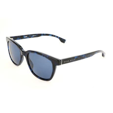 Men's 1037 Sunglasses // Blue Havana
