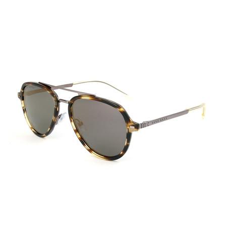 Men's 1055 Sunglasses // Brown Horn