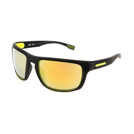 Men's 0800 Polarized Sunglasses // Black + Yellow