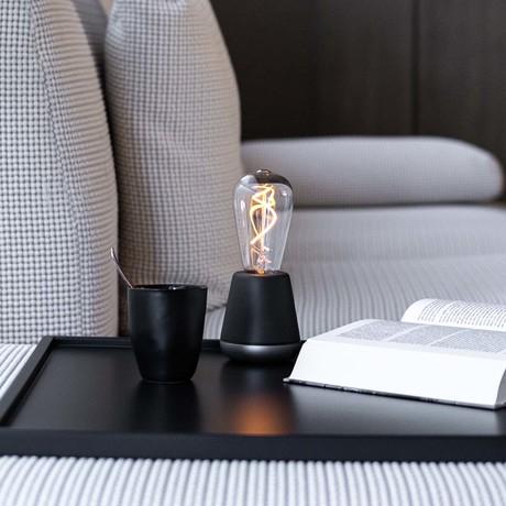 ONE Table Light // Dark Gray