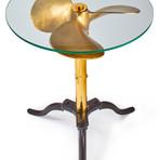 Ship Propeller Table // Brass