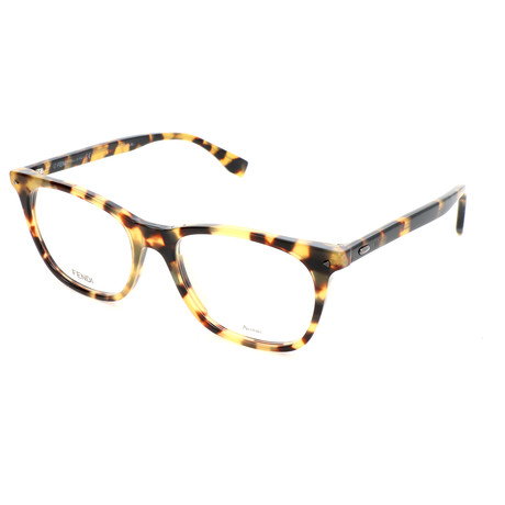 Men's 0004 Optical Frames // Yellow Havana