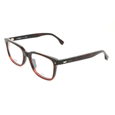 Men's 0220 Optical Frames // Shaded Havana Red