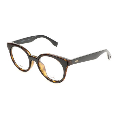 Women's 0198 Optical Frames // Dark Havana