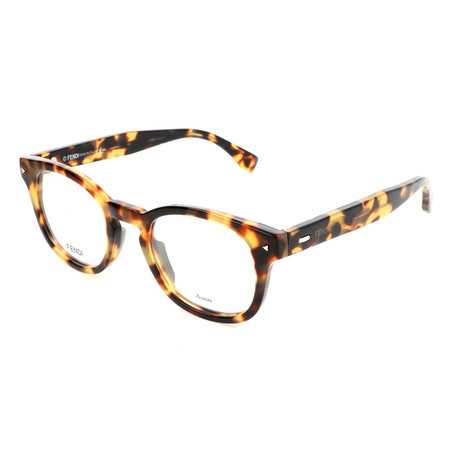 Men's 0217 Optical Frames // Yellow Havana