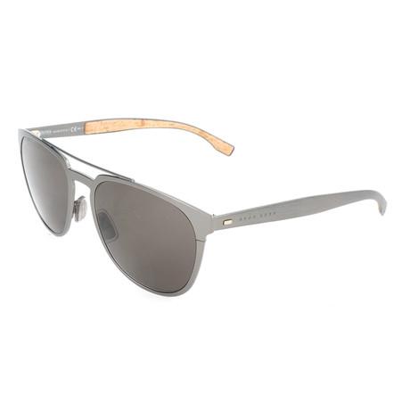 Men's 0822 Sunglasses // Matte Dark Ruthenium