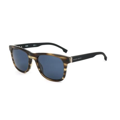 Men's 1039 Sunglasses // Brown Horn