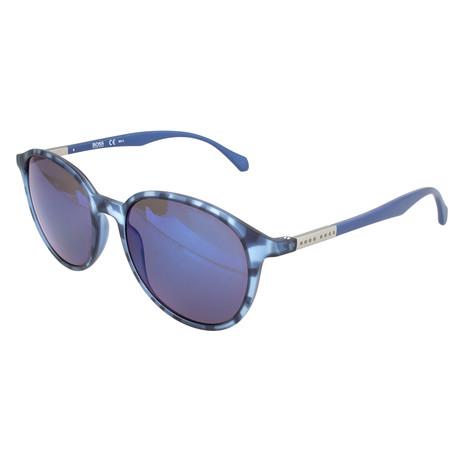 Men's 0822 Sunglasses // Blue Havana