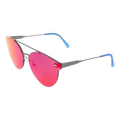 Unisex Giaguaro Infrared Sunglasses // Gray + Violet