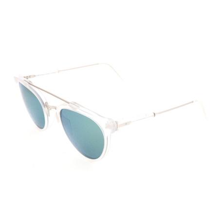Men's Giaguaro Sunglasses // Transparent White