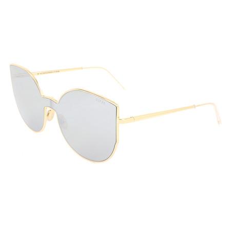 Unisex Lenz Lucia Sunglasses // Gold + Silver