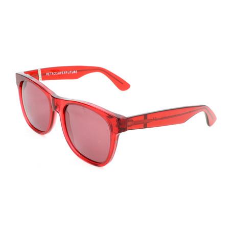Unisex Classic Sunglasses // Red