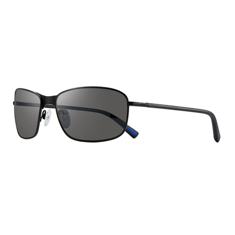 Decoy S Polarized Sunglasses // Black Frame + Graphite Lens