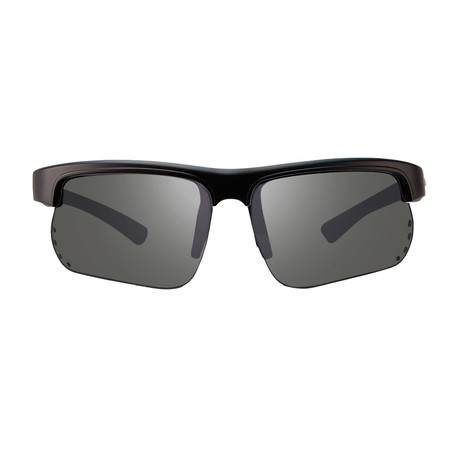 Cusp S Polarized Sunglasses // Matte Black Frame + Graphite Lens