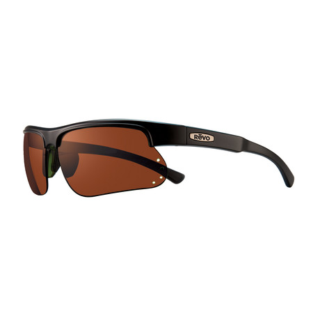 Cusp S Polarized Sunglasses // Matte Black Frame + Golf Lens