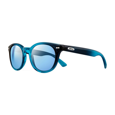 Rory Polarized Sunglasses // Watercolor // Blue Water Lens