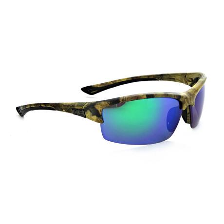 Unisex Archer Polarized Sunglasses // Matte Camo