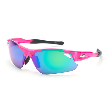 Neurotoxin 3.0 Sunglasses // Fuchsia // Interchangeable Lenses