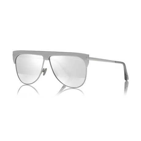 Unisex 18K Gold Plated Limited Edition Winter Sunglasses // White Gold