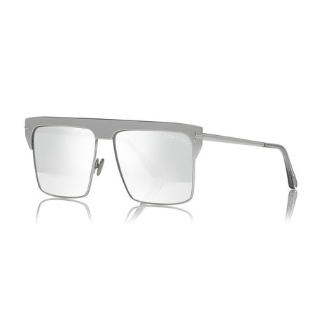 Unisex 18K Gold Plated Limited Edition West Sunglasses // White Gold