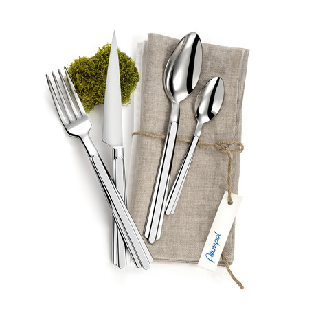 Paimpol 16-Piece Precision-Forged Flatware Set