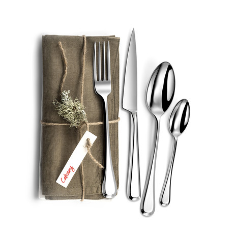 Cabourg 16-Piece Precision-Forged Flatware Set