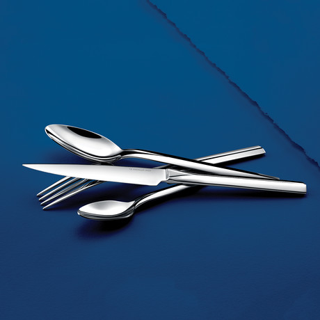 Cap Ferret // 16-Piece Precision-Forged Flatware Set (Mirror Finish)