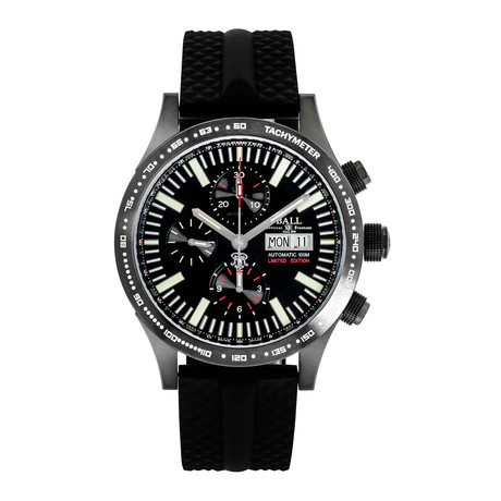 Ball Storm Chaser Chronograph Automatic // CM2192C-P2-BK // Store Display