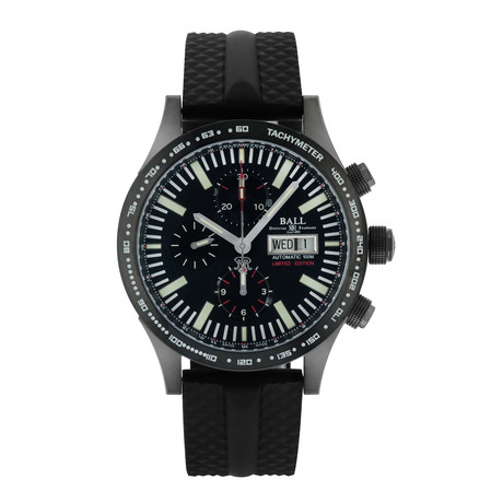 Ball Storm Chaser Chronograph Automatic // CM2192C-P1J-BK // Store Display