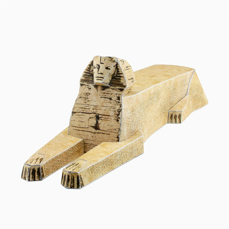 Sphinx & Egyptian Pyramids