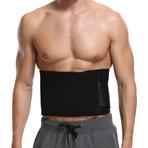 Unisex Waist Trimming Belt // Black (Small / Medium)