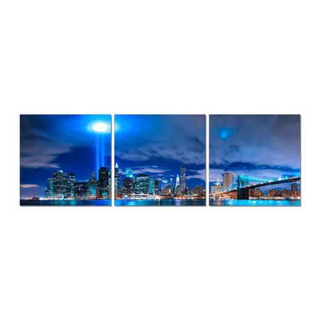 New York City // World Trade Center Lights