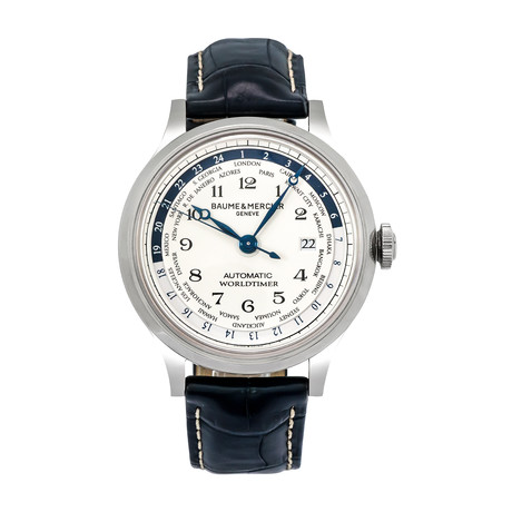 Baume & Mercier Capeland World Timer Automatic // MOA10106 // Store Display