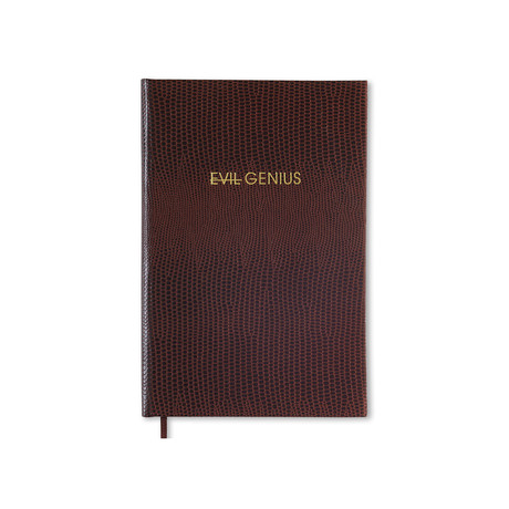 Evil Genius (A5 Book)