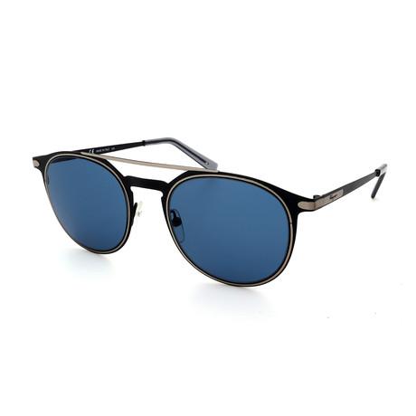 Men's SF186S-002 Sunglasses // Matte Black + Gray