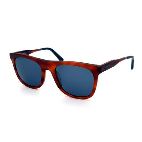 Men's SF864S-212 Sunglasses // Tortoise + Blue Gray