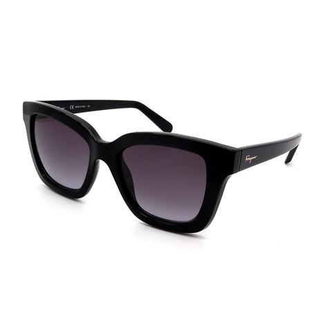 Women's SF955S-001 Sunglasses // Shiny Black + Gray