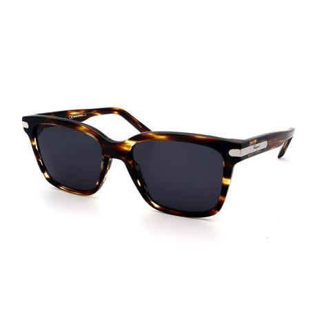 Men's SF917S-216 Rectangular Sunglasses // Light Tortoise + Gray