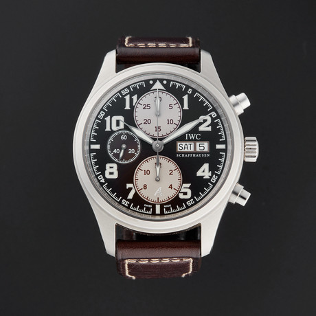 IWC Pilot's Saint Exupery Chronograph Automatic // IW371709 // Pre-Owned